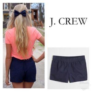 "J. Crew Factory 3"" Boardwalk Pull-On Navy Shorts"